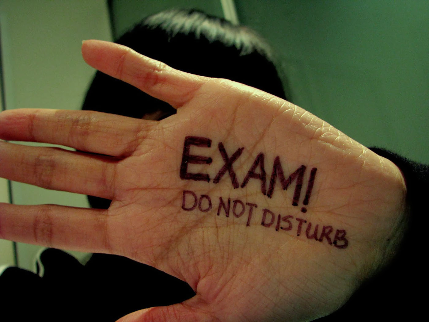exam time do not disturb