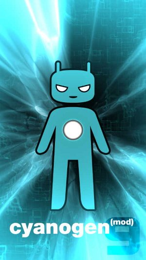 CyanogenMod 9 Boot Animation