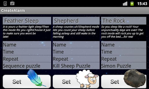 alarm puzzle android app