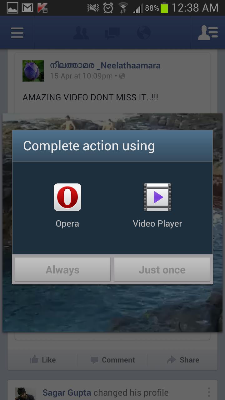 download facebook video using opera