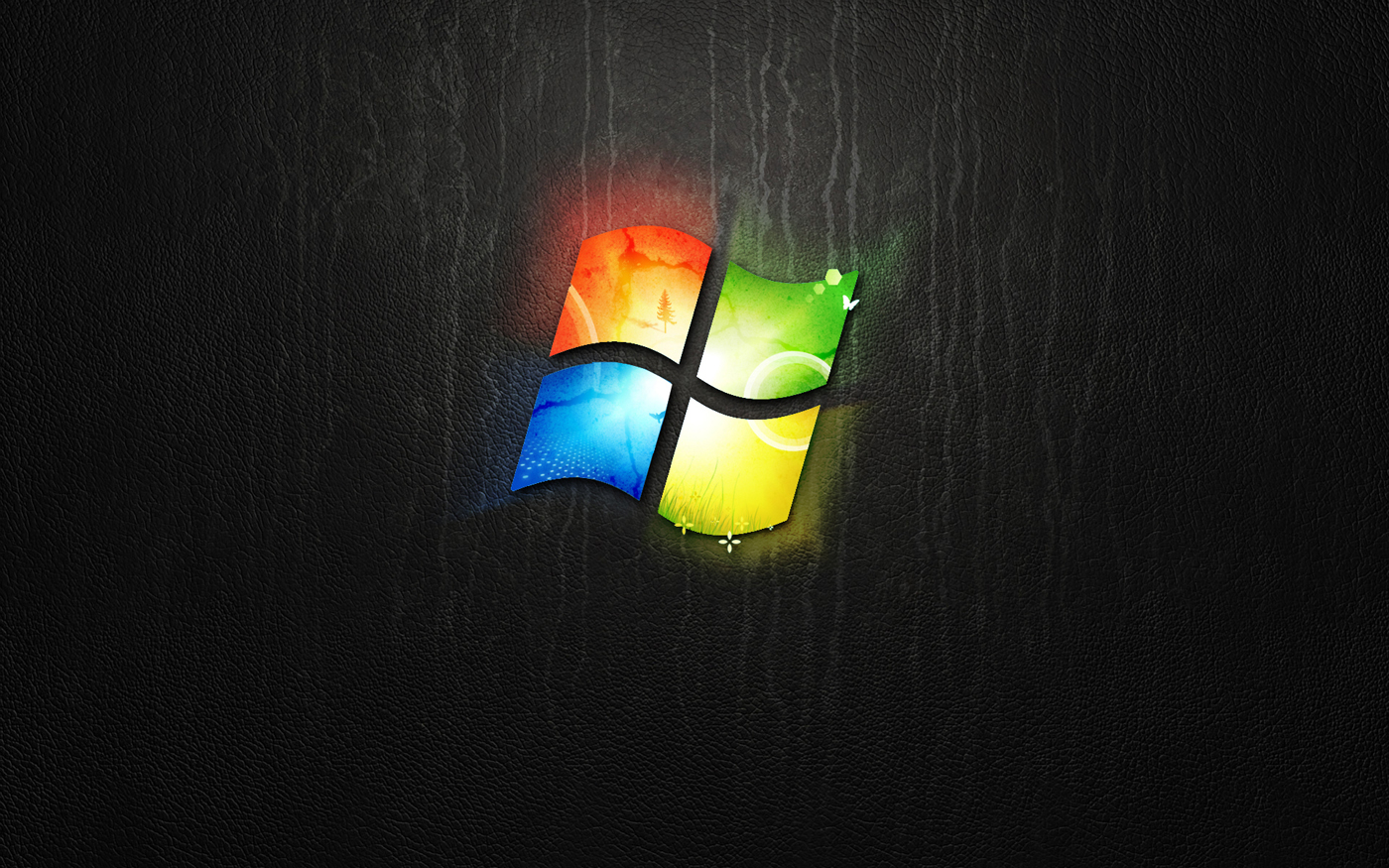 dark windows wallpaper