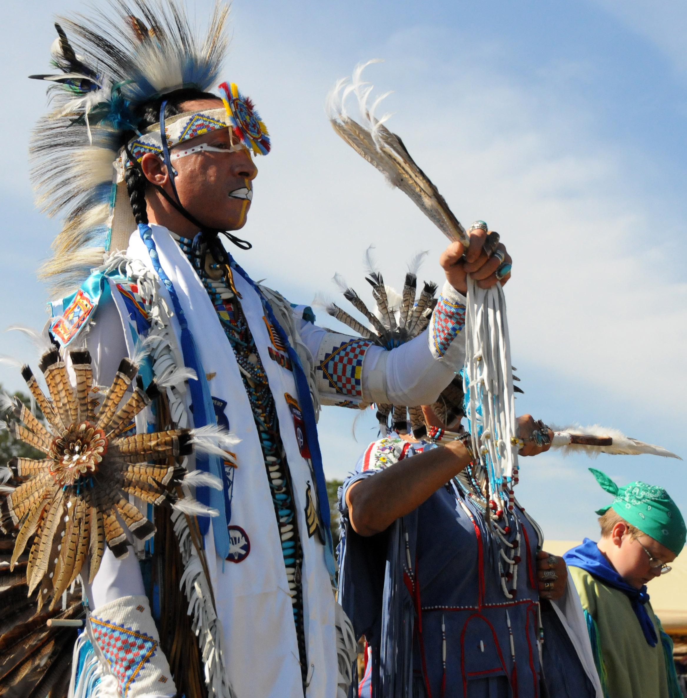 Native American baby naming ceremony