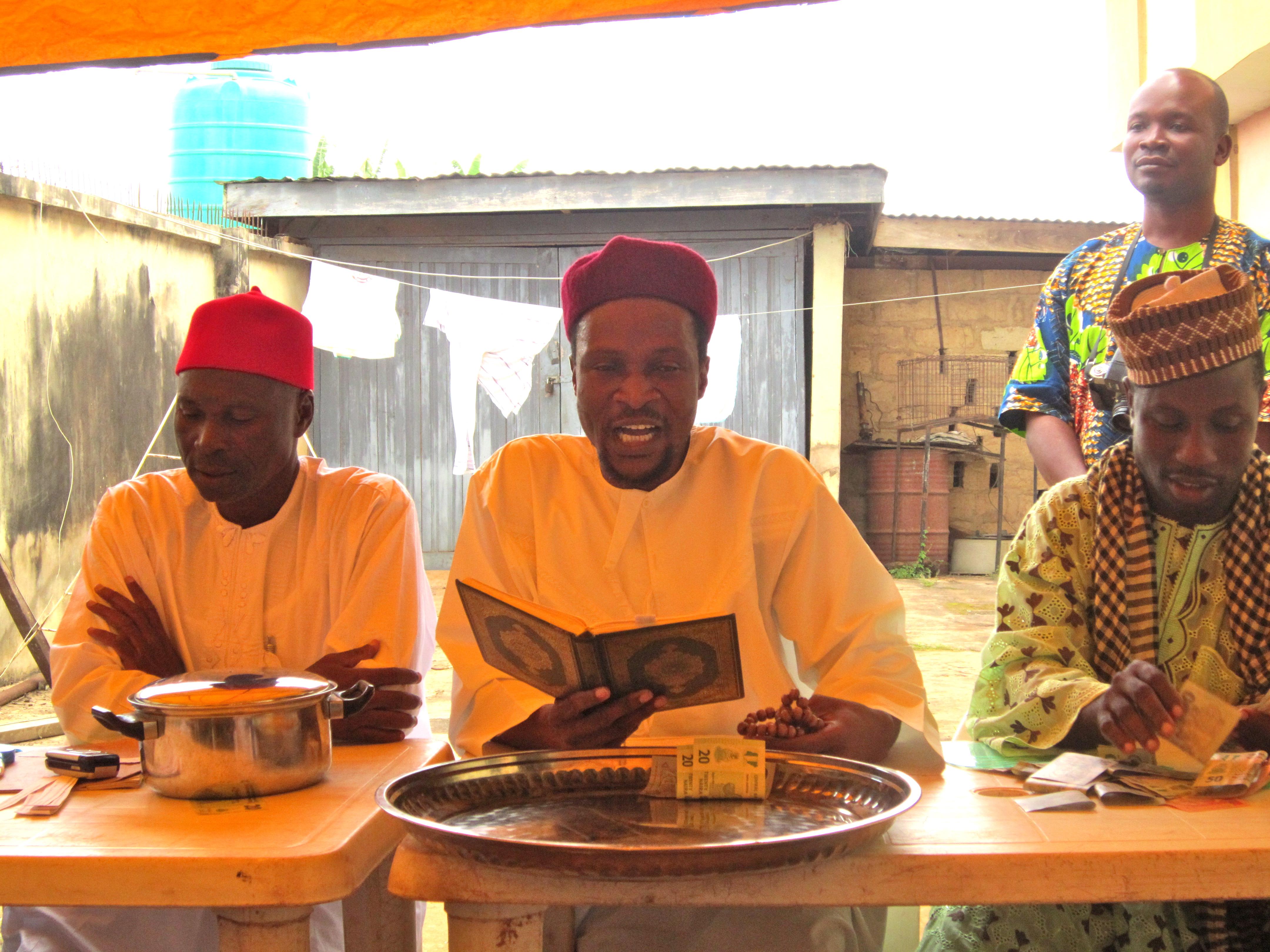 Nigerian Yoruba baby naming ceremony