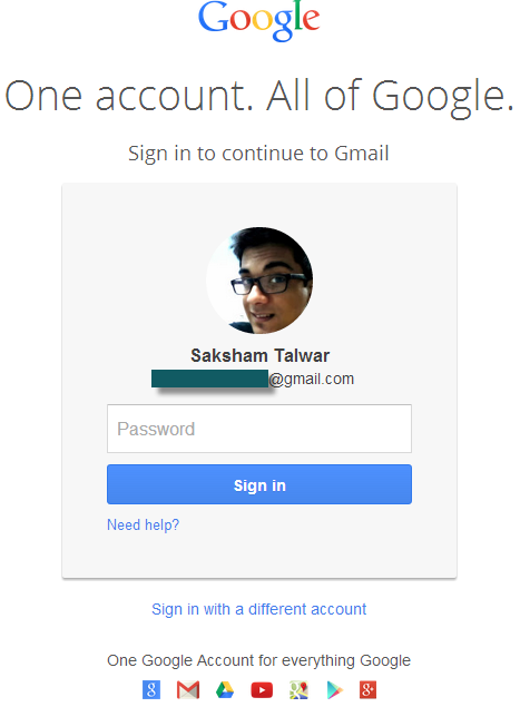 gmail new log in page