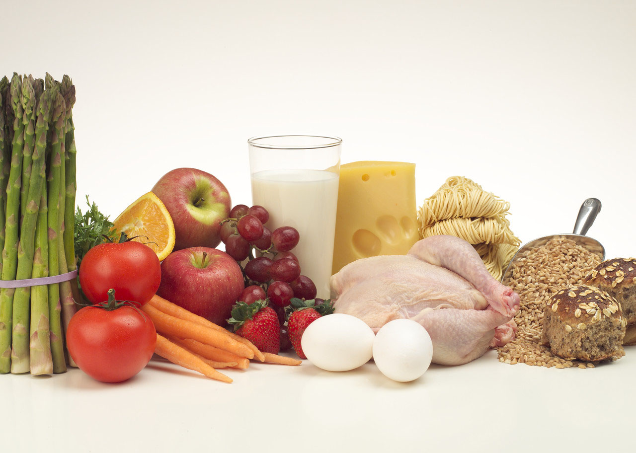 healthy food for good life