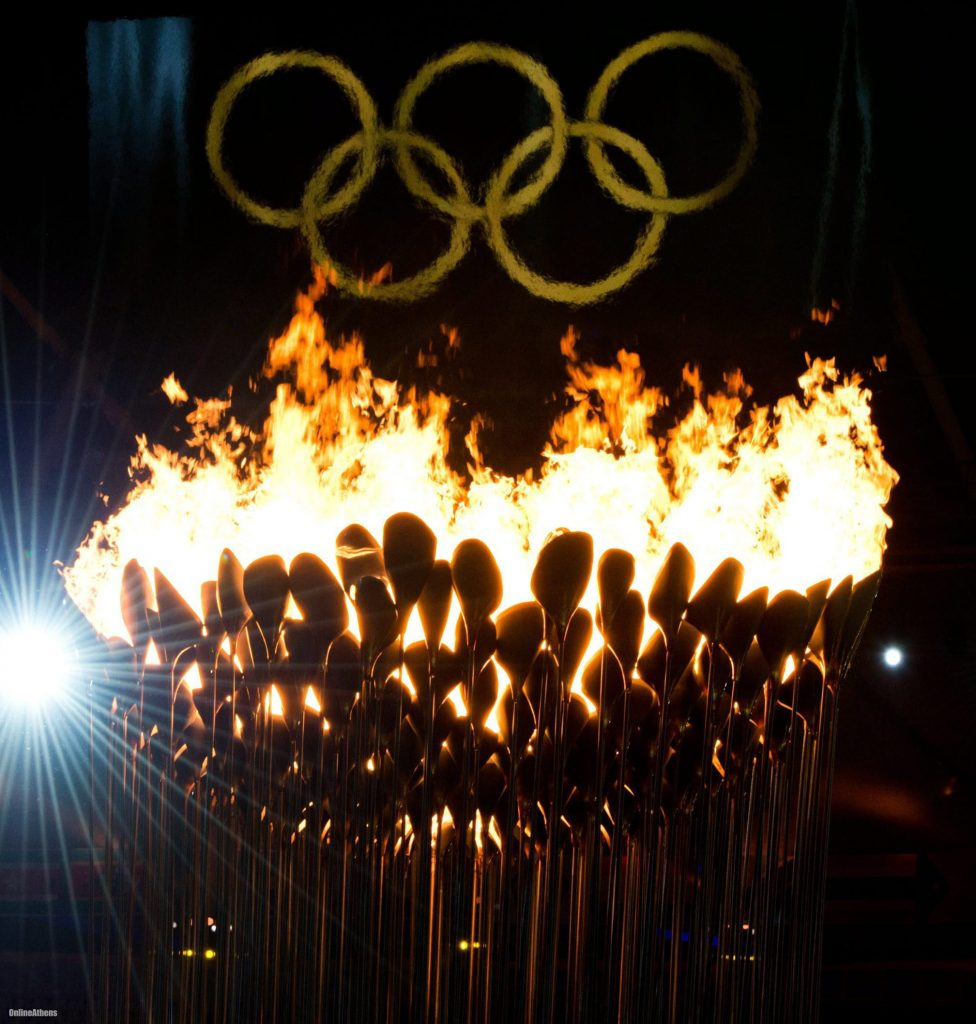 Olympic Torch The Charisma of...