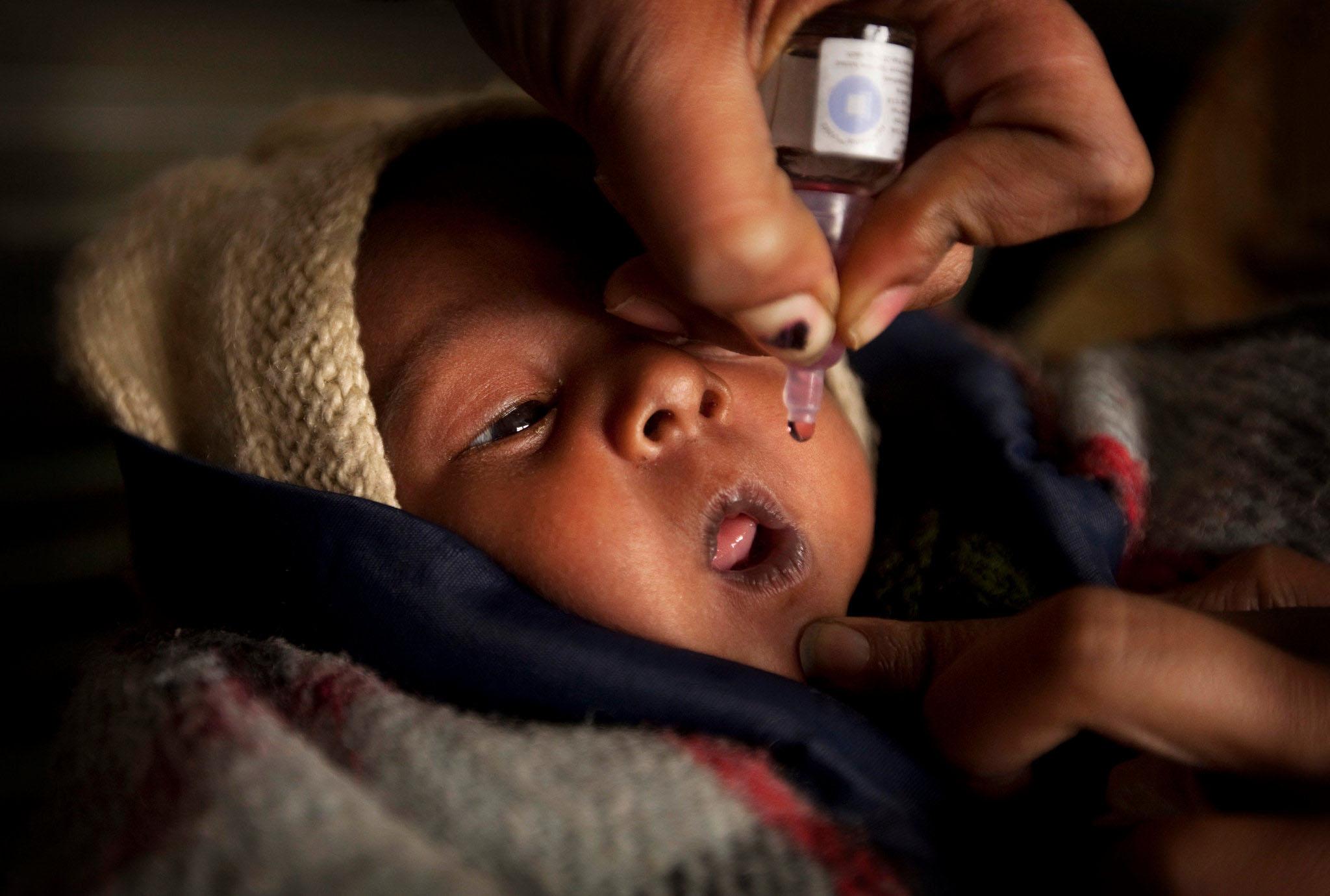 polio vaccination in india