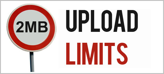 file size upload limit