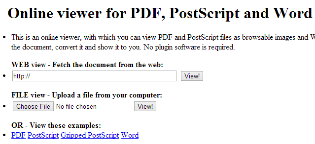 Top 10 Online PDF Readers which Work from Your Browser