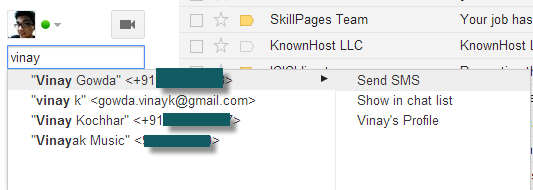 search for user by name in gmail chat