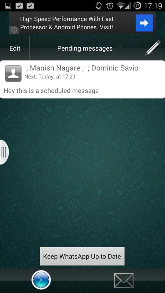 Whatsapp Message Scheduler Lite 3