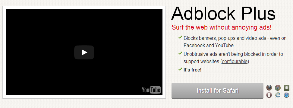 adblock plus for safari download