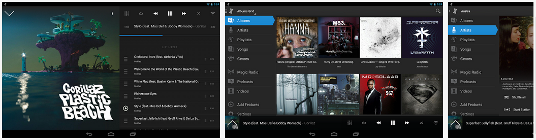 doubletwist music player application