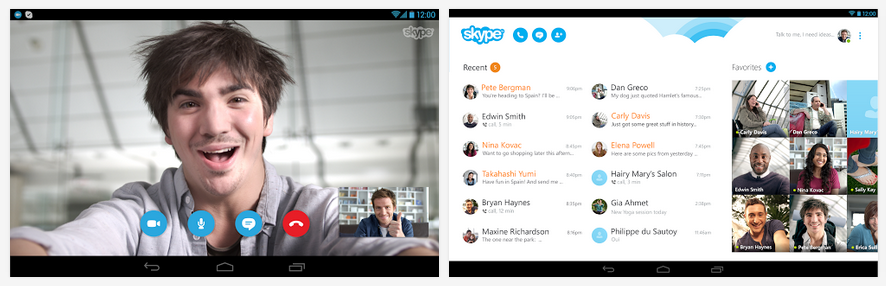 skype for smart phone