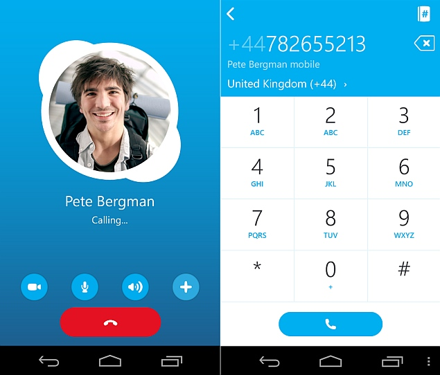 make free skype calls to us and canada from india