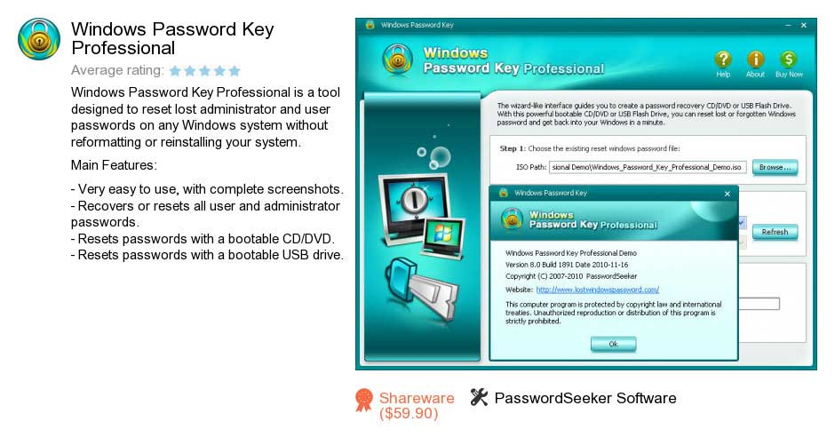 windows password key professional