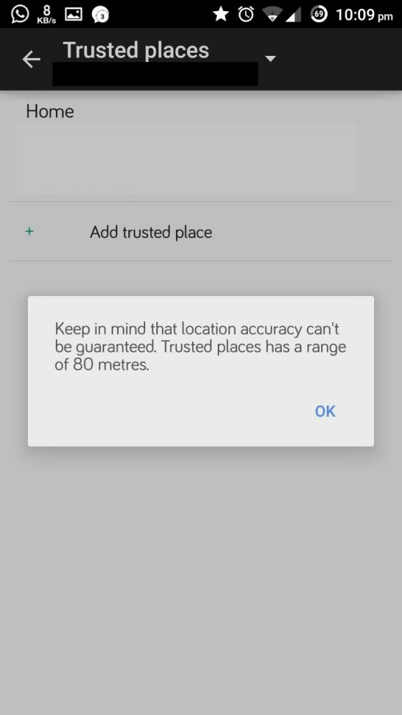 Trusted Location