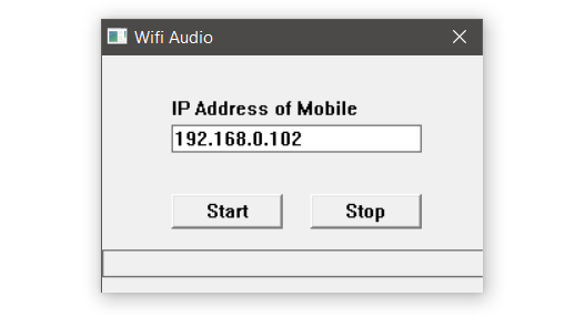 wifi audio for windows 10