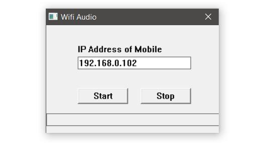 wifi audio for windows 10