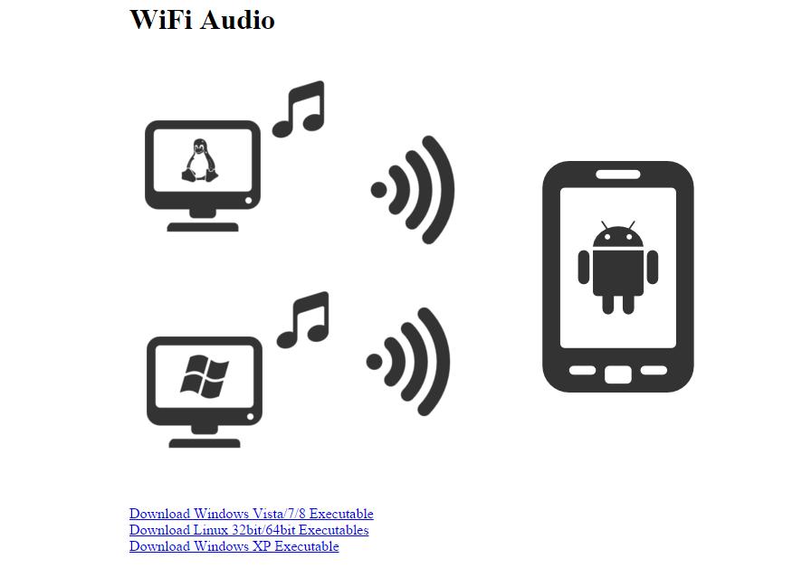 wifi audio website