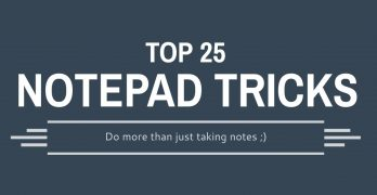 Top 25 Notepad Tricks to Do More than Noting Things