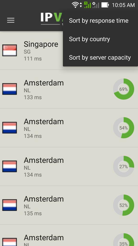 ipvanish android app 2
