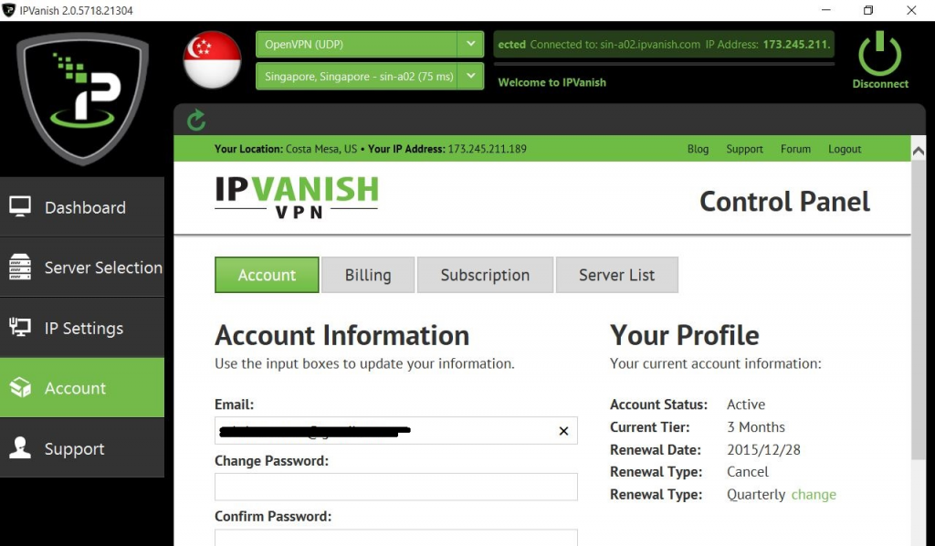 ipvanish windows app review 10