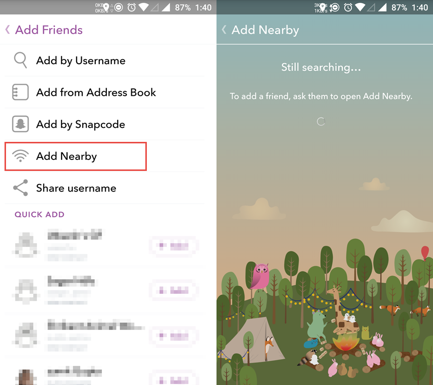 how to add people to snapchat