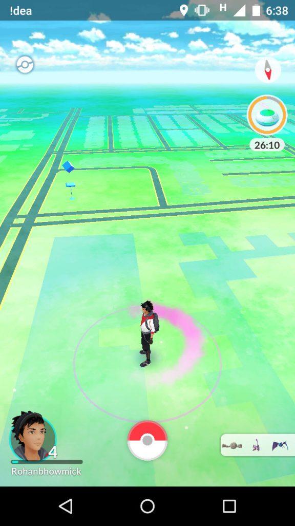 items in pokemon go game